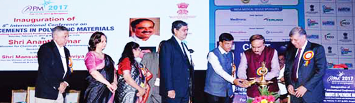 "8th International Conference on ""Advancements in Polymeric Materials, APM-2017"" was held in Bengaluru, Karnataka from February 11-13,2017."