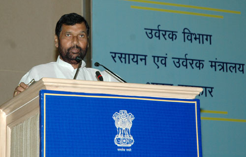 The Union Minister of Chemicals & Fertilizers and Steel, Shri Ram Vilas Paswan delivering the inaugural address at the Third Meeting of Fertilizer Advisory Forum, in New Delhi on October 05, 2008