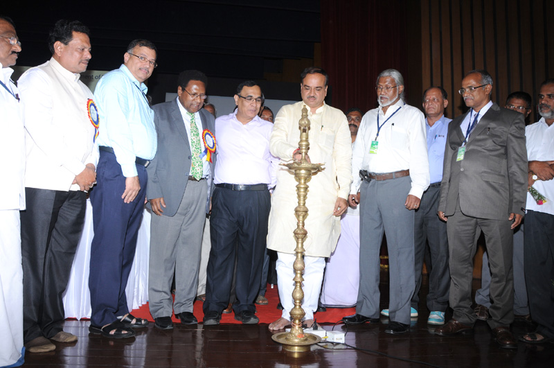 The Union Minister for Chemicals and Fertilizers, Shri Ananthkumar inaugurating the 16th 'World Coconut Day' celebrations organised by Coconut Development Board, in Bangalore on September 02, 2014