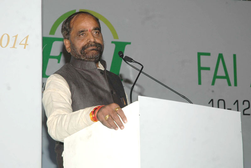 The Minister of State for Chemicals & Fertilizers, Shri Hansraj Gangaram Ahir addressing at the inauguration of the Fertilizer Association of India annual seminar 2014 on 'Unshackling the Fertilizer Sector', in New Delhi on December 10, 2014