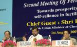 The Union Minister of Chemicals & Fertilizers and Steel, Shri Ram Vilas Paswan addressing at the inauguration of the Second Meeting of the Fertiliser Advisory Forum comprising delegates from States, Industry representatives, Farmers and Central Government Departments, in New Delhi on August 01, 2007