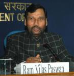 The Union Minister of Chemicals & Fertilizers and Steel, Shri Ram Vilas Paswan addressing at a Press Conference on achievements of Ministries of Steel, Chemicals and Fertilisers, in New Delhi on February 2, 2008