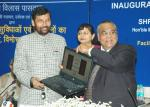 The Union Minister of Chemicals & Fertilizers and Steel, Shri Ram Vilas Paswan launching Online Complaints facility, in New Delhi on February 28, 2008