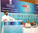The Union Minister of Chemicals & Fertilizers and Steel, Shri Ram Vilas Paswan addressing at India Chem 2008 Industry meet in Mumbai on June 10, 2008