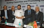 The Union Minister of Chemicals & Fertilizers and Steel, Shri Ram Vilas Paswan at the inauguration of Indian Steel Conclave  2008 Building Capacities and Promoting Development. in New Delhi on July 16, 2008