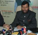 The Union Minister of Chemicals & Fertilizers and Steel, Shri Ram Vilas Paswan interacting the media after inaugurating the first generic drug store Jan Aushadhi Drug Store, in New Delhi on February 05, 2009
