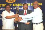 The Minister of State of Chemicals and Fertilizers, Shri Srikant Jena presented of the Annual Awards of the Alkali Manufacturers Association of India, in New Delhi on April 30, 2010