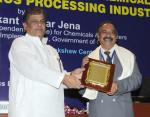 The Minister of State (Independent Charge) for Chemicals & Fertilizers Shri Srikant Kumar Jena presented the 3rd National Awards for Technology Innovation in Petrochemicals & Downstream Plastic Processing Industry 2012-13, under the aegis of National Policy on Petrochemicals, at a function, in New Delhi on May 07, 2013