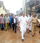 The Union Minister for Chemicals and Fertilizers, Shri Ananthkumar visiting the Fertilizers and Chemicals Travancore Ltd., Cochin, in Kerala on June 20, 2014