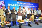 The Union Minister for Chemicals and Fertilizers, Shri Ananthkumar releasing the Exhibitors Show Directory at the inauguration of the IPLEX 14-International Plastics Exposition, in Hyderabad on August 08, 2014. The Secretary, Ministry of Chemicals and Fertilizers, Shri Indrajit Pal is also seen