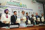 "The Union Minister for Chemicals and Fertilizers, Shri Ananthkumar releasing the ""Knowledge Paper on Agrochemicals"", at the '4th National Conference on Agrochemicals, 2014 in New Delhi on August 25, 2014"