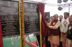 The Union Minister for Chemicals and Fertilizers, Shri Ananthkumar unveiling the plaque to lay foundation stone of the Boys & Girls Hostel of Central Institute of Plastic Engineering and Technology (CIPET), at Sonipat, in Haryana on January 20, 2015