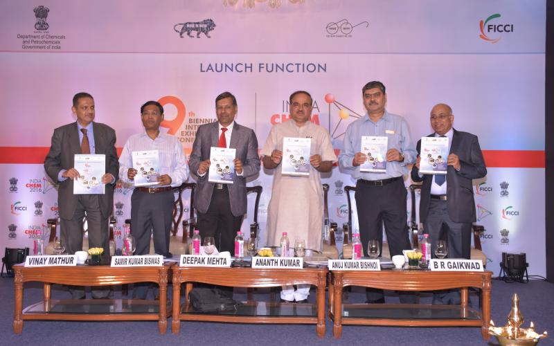 Launch function of India Chem 2016. Chief Guest – Hon'ble Minister for Chemicals and Fertilizers